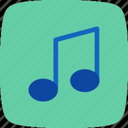 music, music note, sound icon