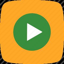 audio, multimedia, music player, play icon