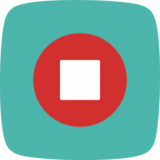 multimedia, music player, pause, stop icon