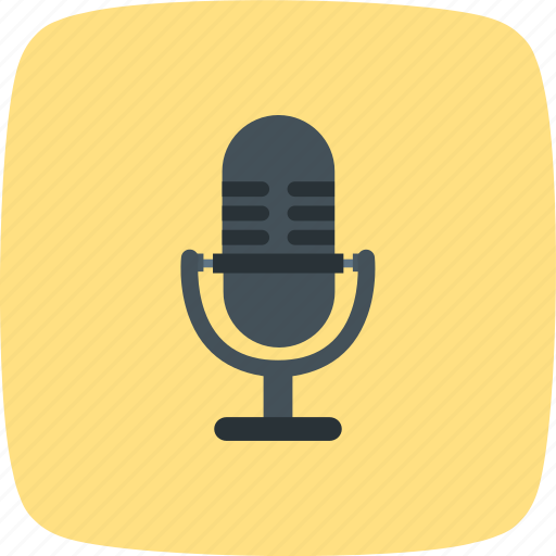 mic, microphone, recording, voice recorder icon