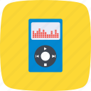 audio, media, music, player icon