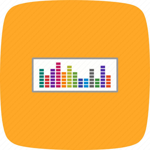 audio, music, sound beat, sound waves icon