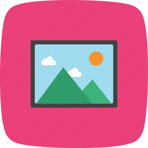 gallery, image, picture icon