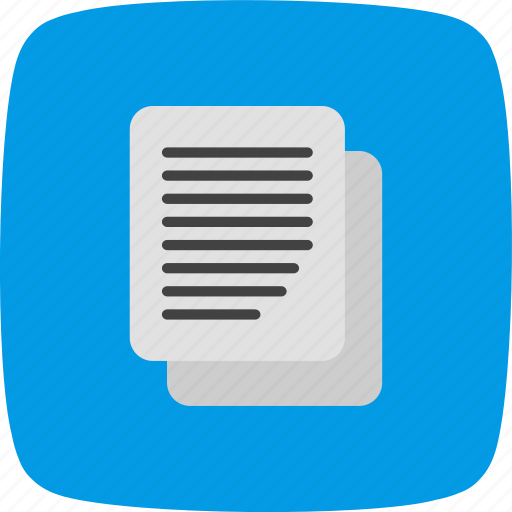 copy, document, file, paste icon