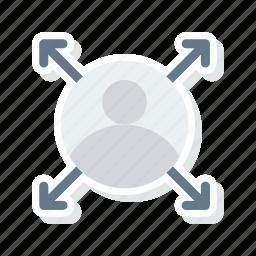 account, id, profile, user icon