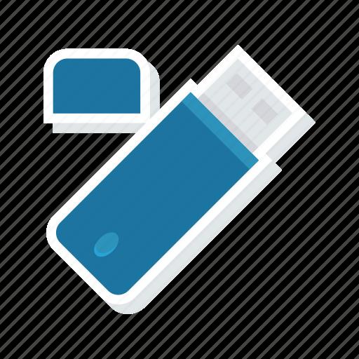 drive, flash, storage, usb icon