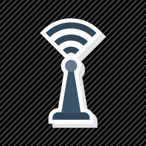 Antenna, signal, tower, wireless icon - Download on Iconfinder
