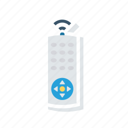 access, control, remote, wireless icon
