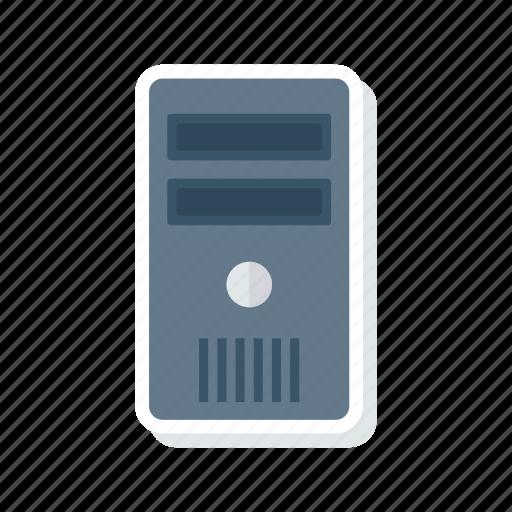 computer, cpu, pc, server icon