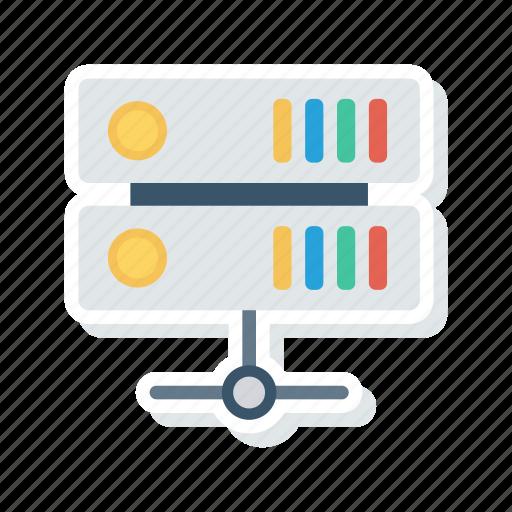 database, server, share, storage icon