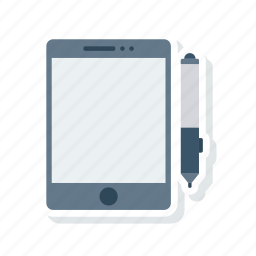 device, responsive, stick, tablet icon