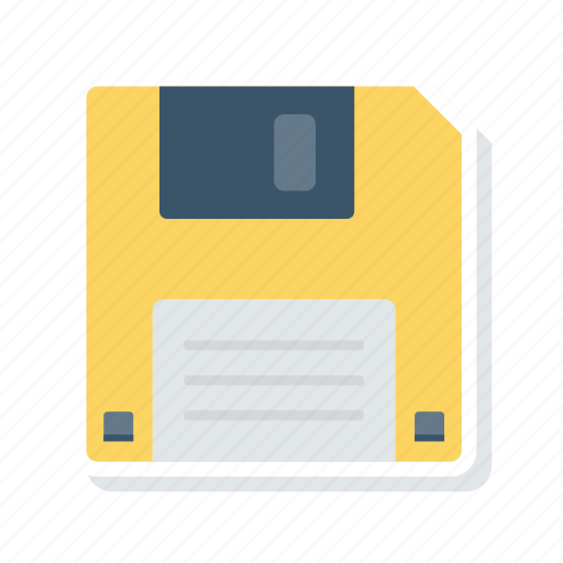 Disk, diskette, floppy, save icon - Download on Iconfinder