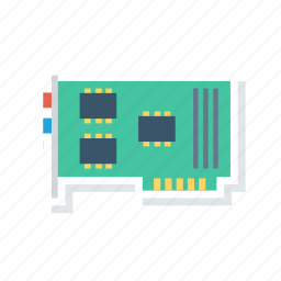 chip, circuit, hardware, motherboard icon