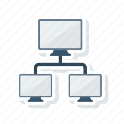 connection, link, network, share icon