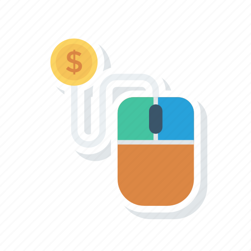 buy, payment, payperclick, pointer icon