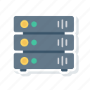 hardware, mainframe, server, storage icon