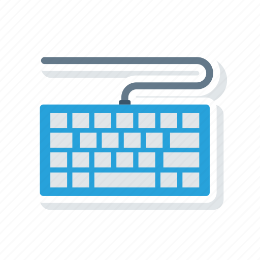 keyboard, keypad, typewriter, writer icon