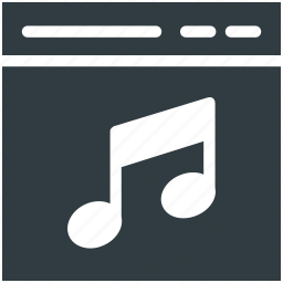 media, media player, multimedia, music, music player icon