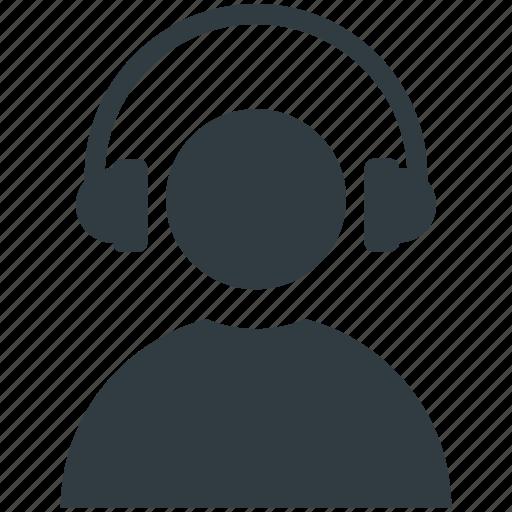 disc jockey, dj, multimedia, music listening, radio anchor icon