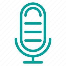 computer, media, microphone, multimedia, web icon