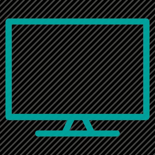 computer, media, monitor, multimedia, web icon
