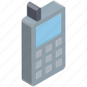 communication, cordless phone, police radio, radio transceiver, walkie talkie icon