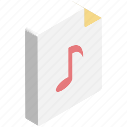 mp3 file, music, music file, note, song, song file icon