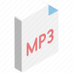 mp3, mp3 file, music, song, song file, untitled icon