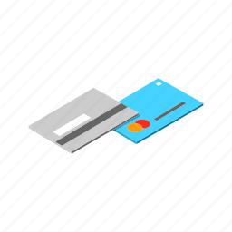 card, credit, credit card, isometric, multimedia, pay, payment icon