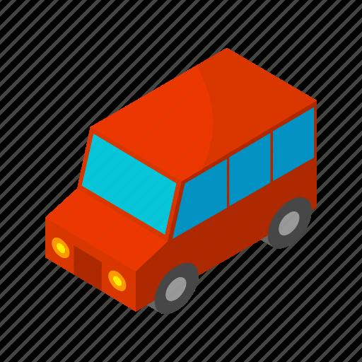 car, isometric, multimedia, road, street, transportation, wheel icon