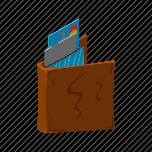 card, finance, financial, isometric, money, multimedia, wallet icon