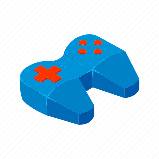 Console, game, isometric, joy stick, multimedia, playstation, stick icon - Download on Iconfinder