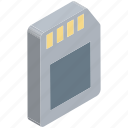chip, data storage, memory card, memory chip, memory storage, sd card, storage device icon