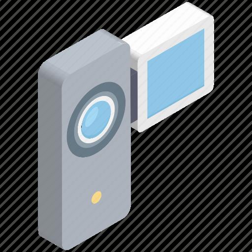camcorder, camera, handy cam, video camera, video recording icon