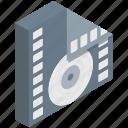 cd, floppy, media, media player, multimedia, music player, video player icon