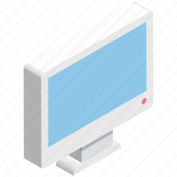 desktop, display, lcd, led, monitor, monitor screen, screen icon