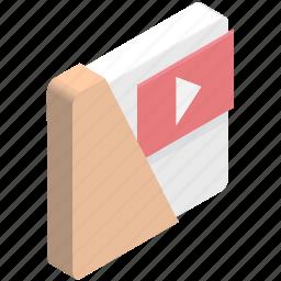 movie clips, movie folder, movies collection, videos files, videos folder icon