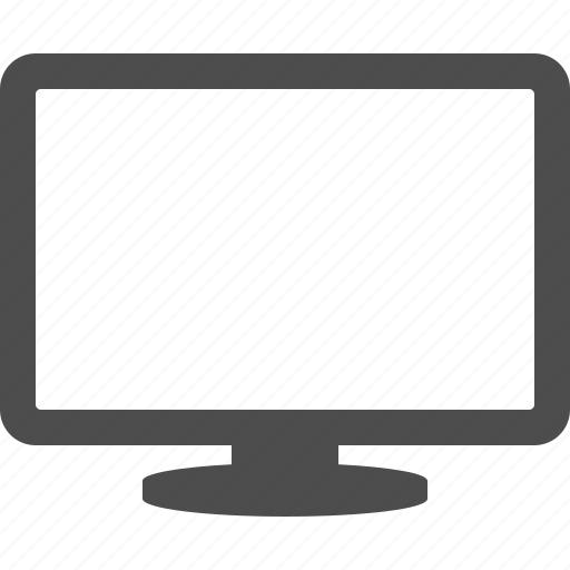 flatscreen, monitor, screen, tv icon