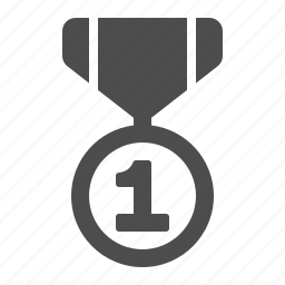 award, first, medal, number one, prize, winner icon