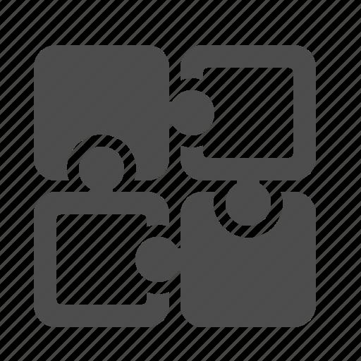 piece, pieces, plugin, puzzle icon