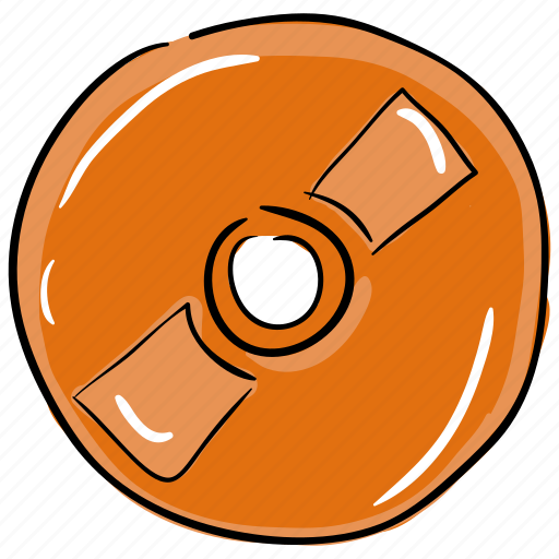 audio disc, cd disc, cd record, music disc, songs disk icon