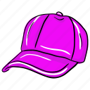 cap, golf cap, rap cap, sports cap, summer cap icon
