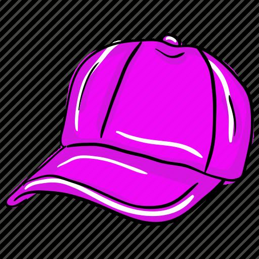 cap, golf cap, rap cap, sports cap, summer cap icon