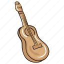 classical guitar, electrical amplifier, guitar, music guitar, musical instrument icon