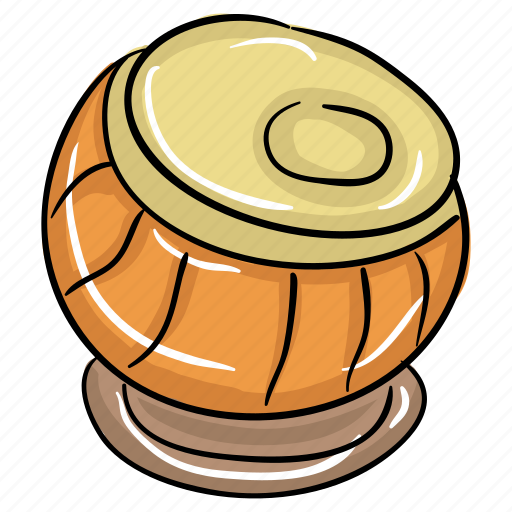 arabic drum, arabic tabla, classic instrument, dholak, musical instrument, tabla icon