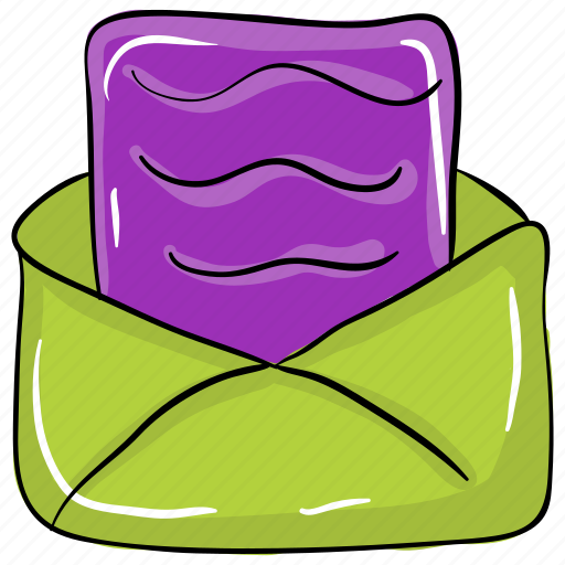 business message, email, email contact, email document, email letter icon