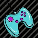 game controller, gamepad, joystick, motion joystick, remote controller, video game equipment, volume pad icon