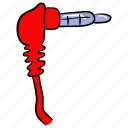 audio cable, audio connector, aux, cable connector, cable cord icon