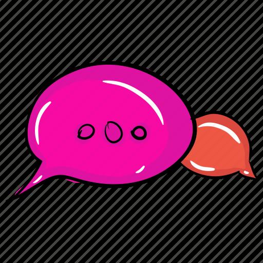 chat bubble, chatbot, communication, message bubble, messaging, speech bubble icon