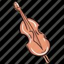 classical violin, guitar, manual violin, music guitar, musical instrument icon